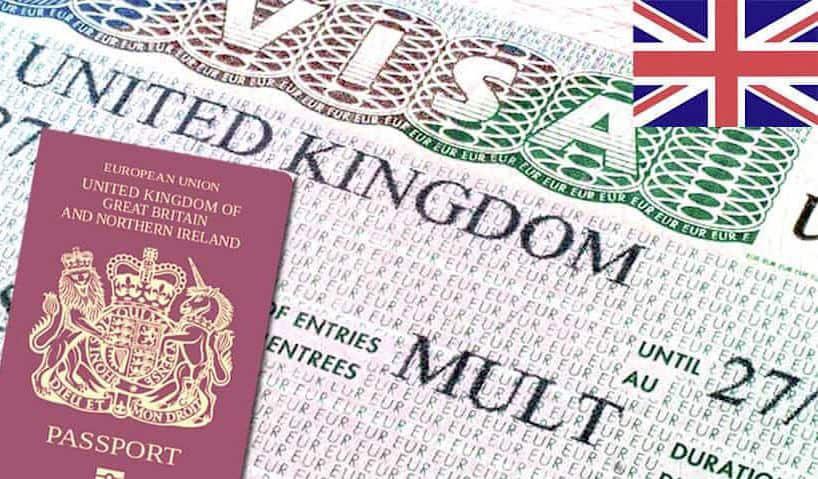 immigration visa sample